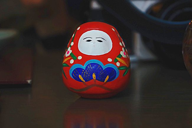Tumbling doll Symbol Wabi-sabi Red Japanese Culture Japanese Traditional Japanese Doll Wabisabi PENTAX K-70