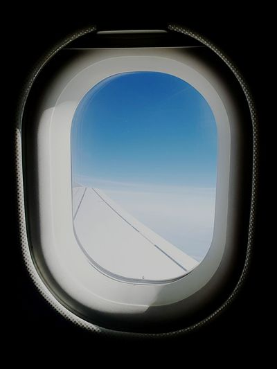 Sky Window Airplane