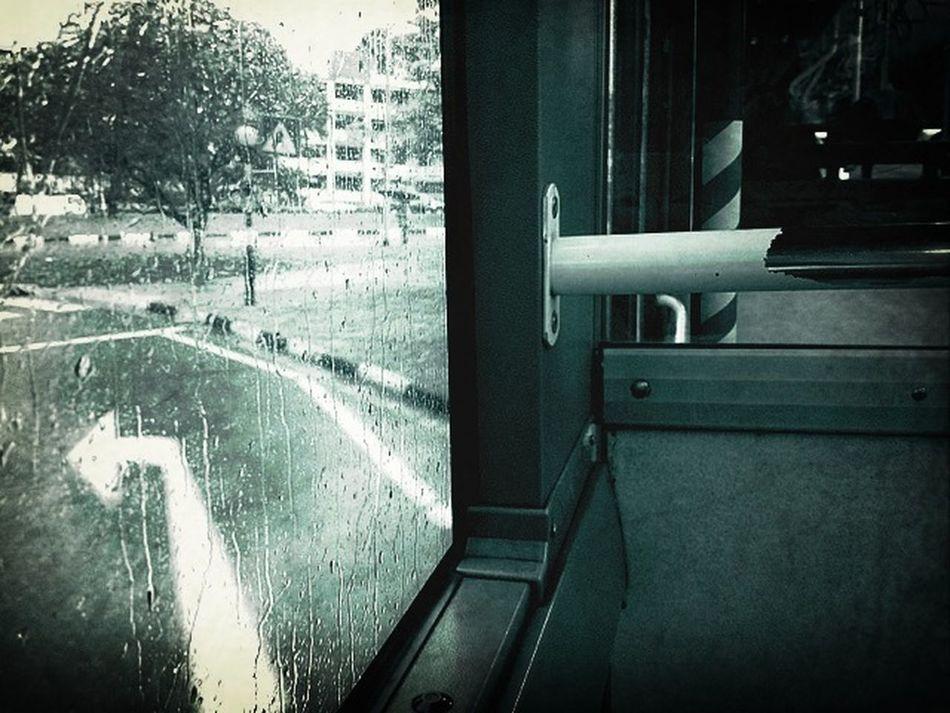 It Was Raining...