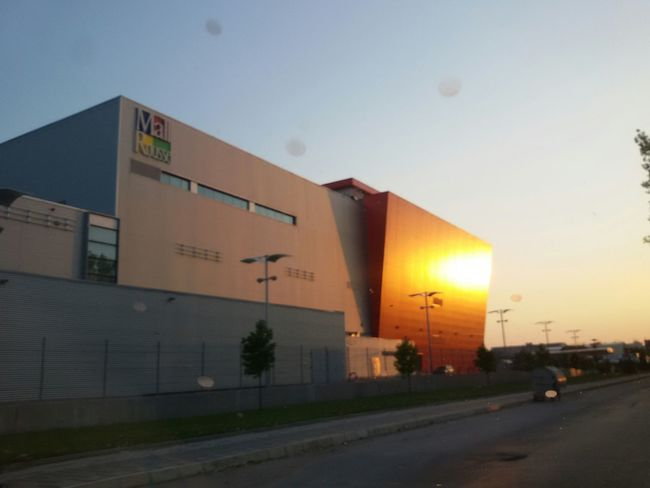 Sunset in my City Frommycar Urban Geometry Arhitecture Ontheroad Check This Out Taking Photos Architecture Hello World