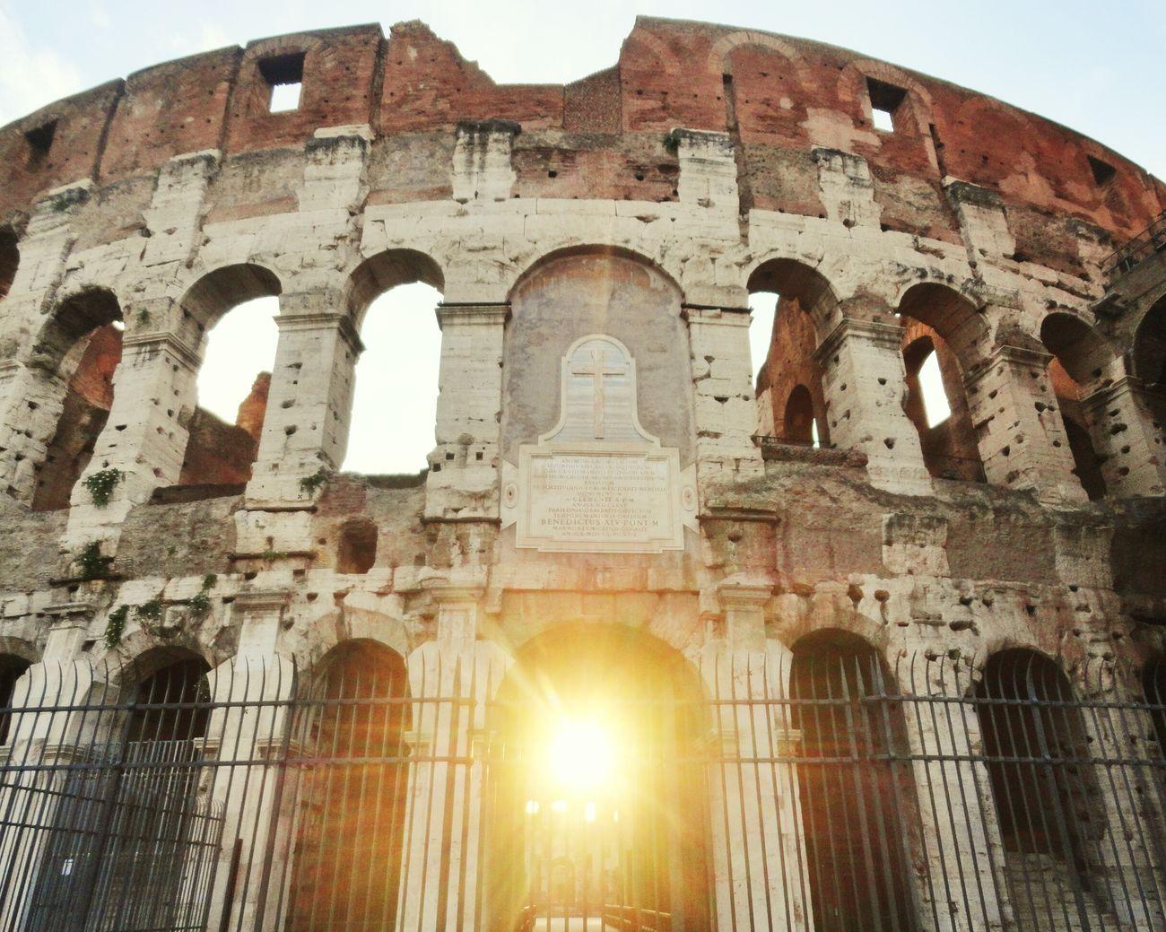 Colosseo Coliseo Romano Rome Traveling