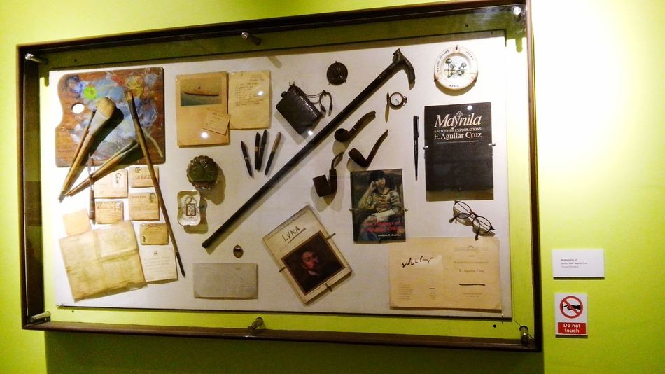 """PrivateCollections Memorabilia of Emelio """"Abe"""" Aguillar Cruz, Visiting Museum Quality Time Treasure Antiques National Museum Educational Learning History"""