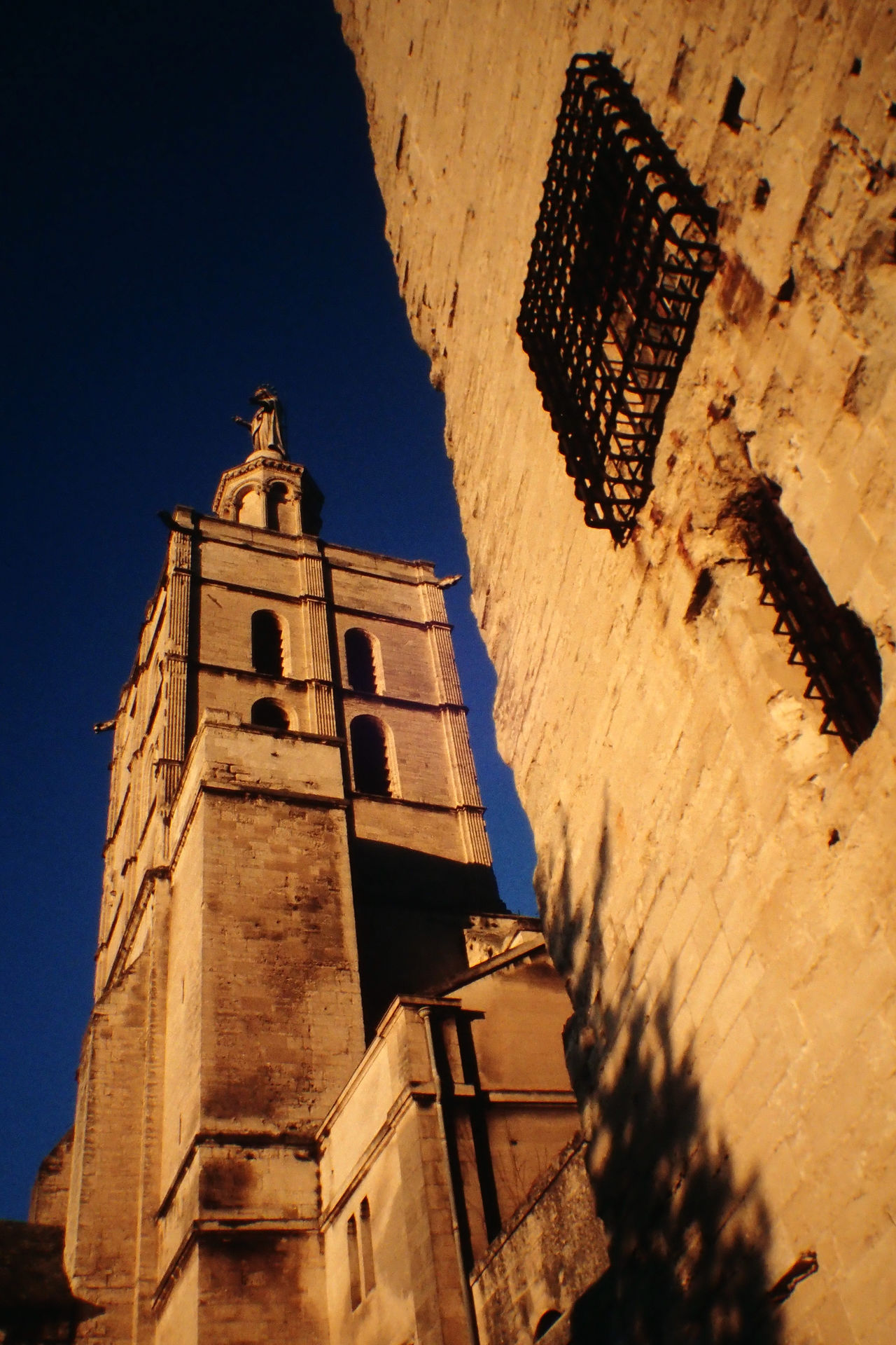 Architecture Avignon Building Exterior Built Structure Christianity Church France Low Angle View No People Notre Dame Des Doms Outdoors Religion Spirituality
