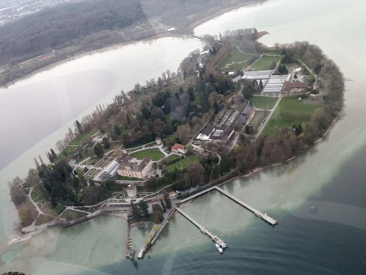 Lindau Bodensee Water Accidents And Disasters Aerial View Extreme Weather Building Exterior Natural Disaster Built Structure City High Angle View Environment Environmental Issues Nature Environmental Conservation Architecture Outdoors Tree Ecosystem  No People Cityscape Day