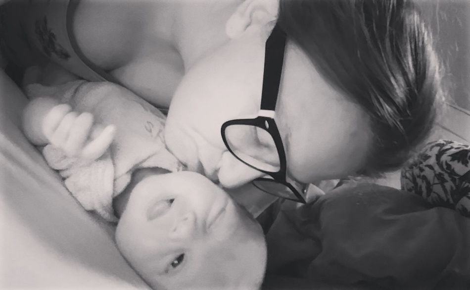 She cracks me up. I think she was in the middle of farting on mommy 😂😜 Carmenjayde Babygirl TwoWeeksOld Newlife Likes Today's Hot Look Follow Popular Photos Check This Out Newmommy  New Hello World Enjoying Life Inlove Sillyface