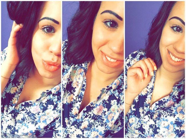 Selfie Smile Shorthair BrownHairDontCare Look 🌹🌷