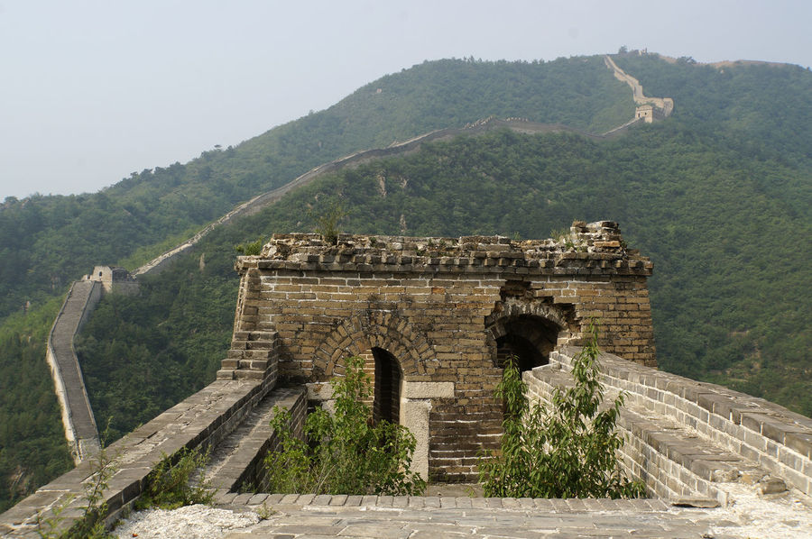 Great Wall at Huanghua Ancient Civilization Arch Architecture Beauty In Nature Built Structure China Chinese Wall Day Great Wall Huanghua Mountain Nature No People Old Ruin Outdoors Scenics Sky Travel Destinations Tree