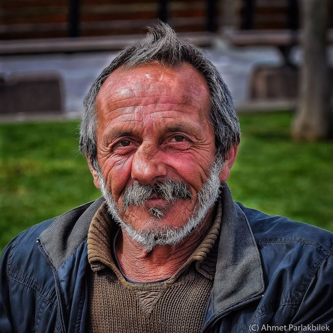 Man with broken nose.. Portrait Man Istanbul
