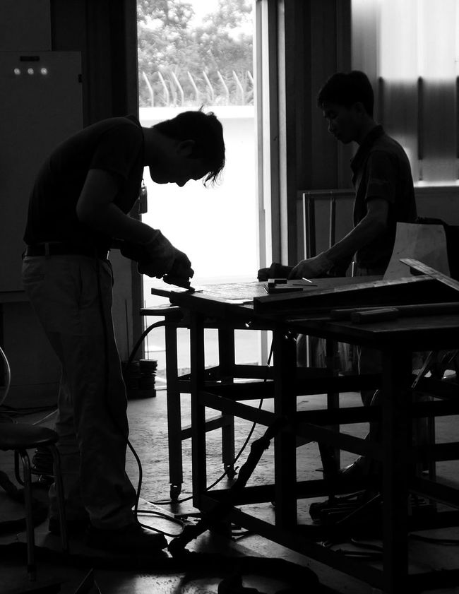 Work Factory Manufacture Factorywork Factory Workers Processing Production
