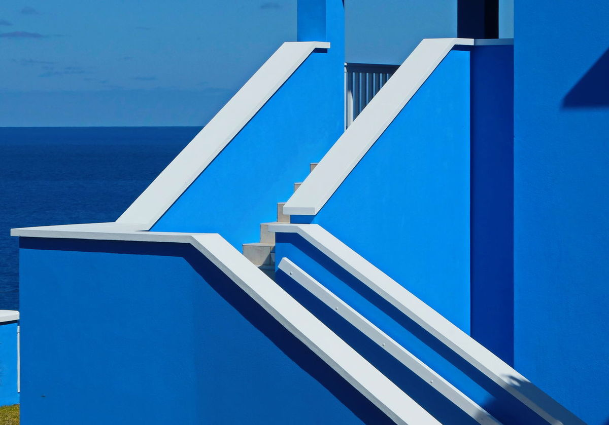 shades of blue Architecture Bermuda Blue Blue Design Blue In Blue Blue Sky Building Exterior Built Structure Clear Sky Close-up Day No People Outdoors Shades Of Blue Sky