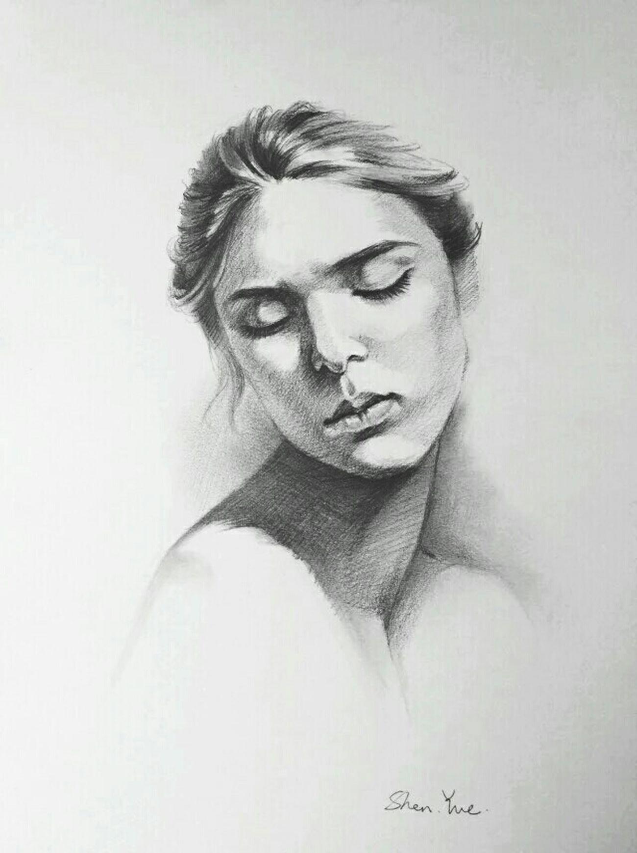 My Drawing Sketch Drawing Beauty Art