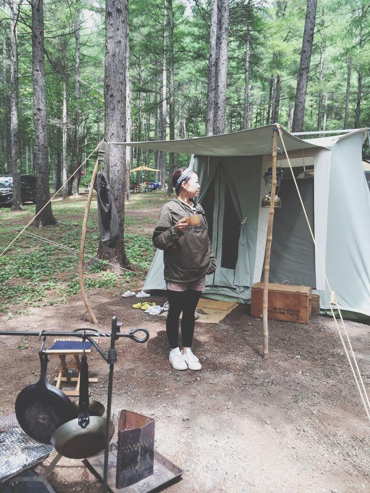 2016.8.12.fri.夏のあれこれ。 軽井沢 キャンプ Camp Tent スプリングバー カーカムス Coffee テント