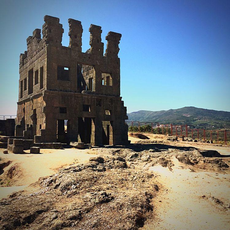 Ruínas de Centum Cellas Monumentos  History Historical Monuments Ruinas Romanas Roman Ruins Patrimoniohistorico Belmonte Passeiohistorico Umpoucodaimensahistoriadonossopais