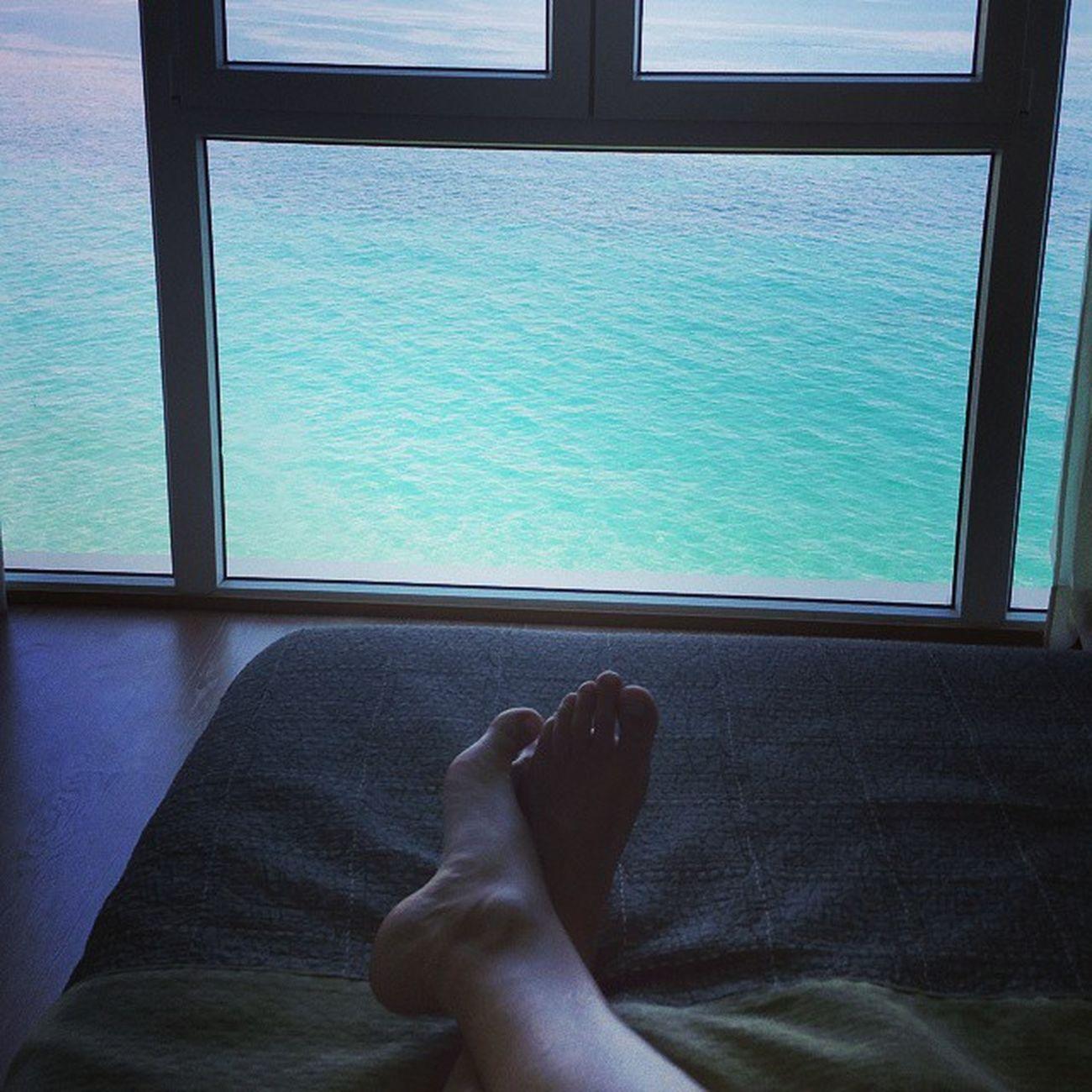 Despertarse con estas vistas no tiene precio 🌅🌞 Lunes HotelVillaVenecia 5☆ Benidorm Mediterráneo CostaBlanca ElCaloret Summer2015 VisitBenidorm benidormbeach LuxuryHotels holydays