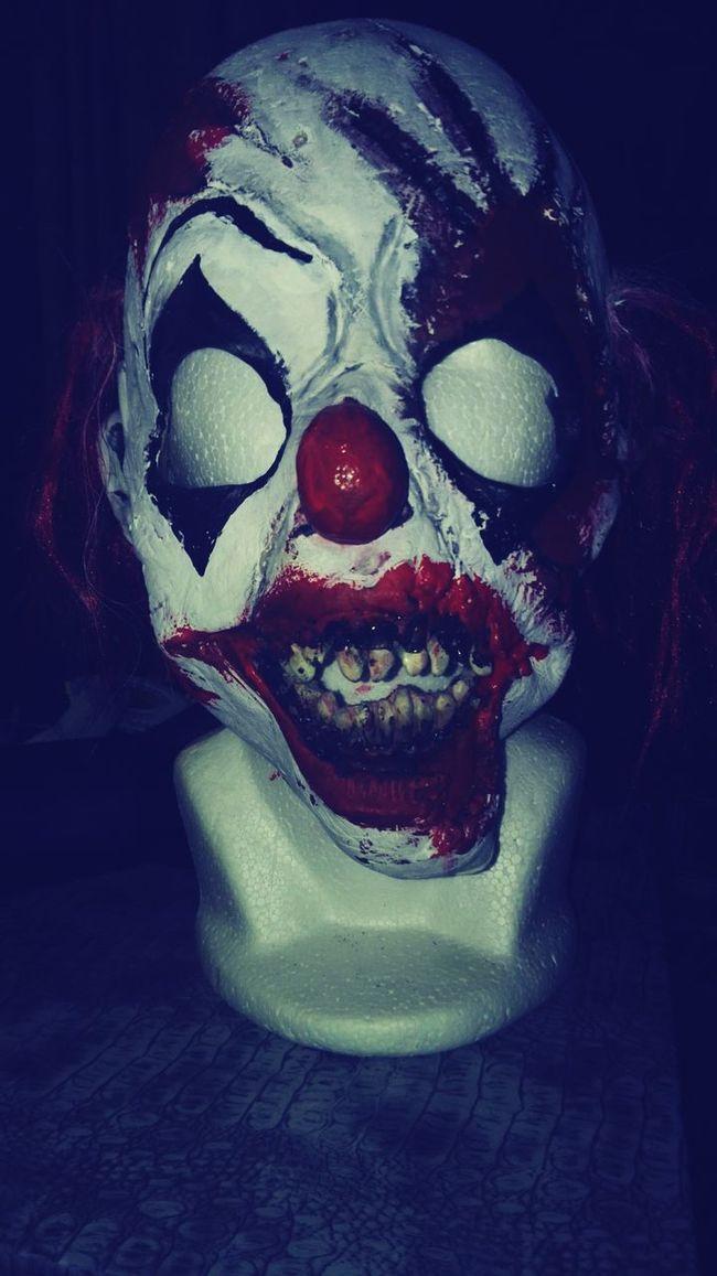 Payaso macabro Evil Clown madness clown Crazy Clown Mask