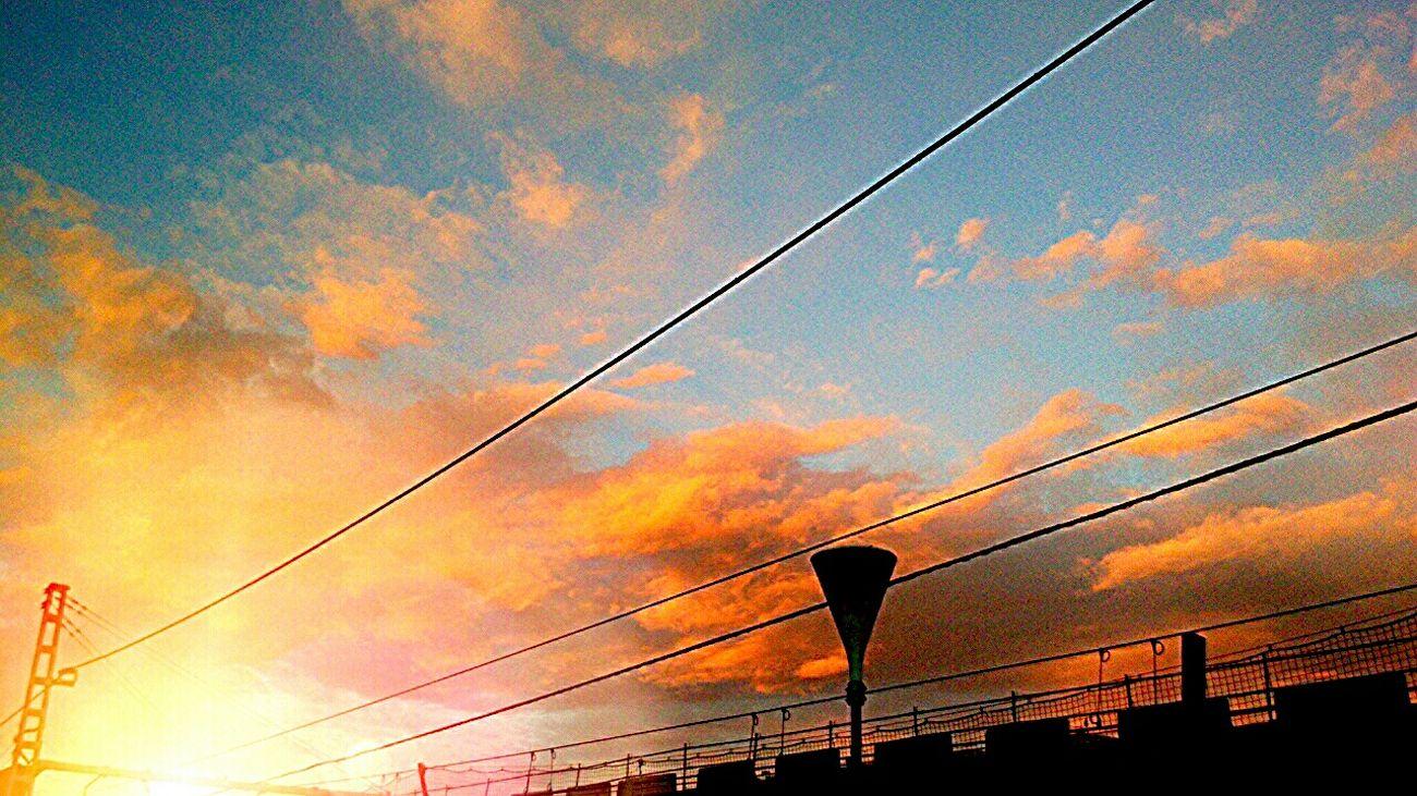 Atardecer... Sky Collection EyeEm Nature Lover Sant Andreu Palomar Eyem Europe