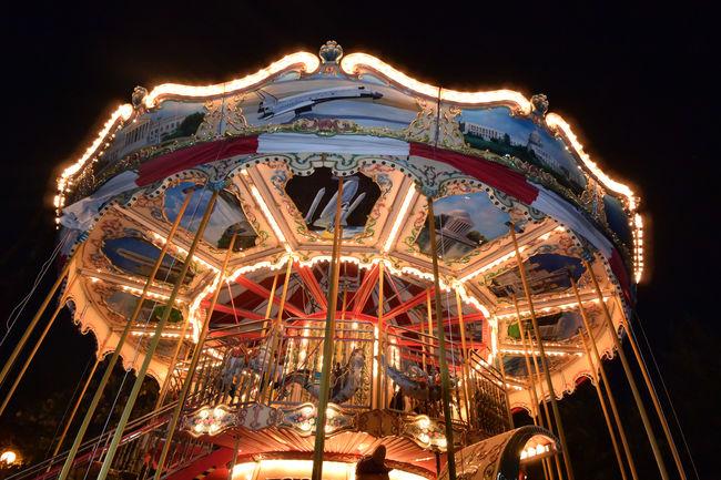 Parque Fundidora Amusement Park Ride Arts Culture And Entertainment Carousel Close Up Cultures Decoration Ornate Park