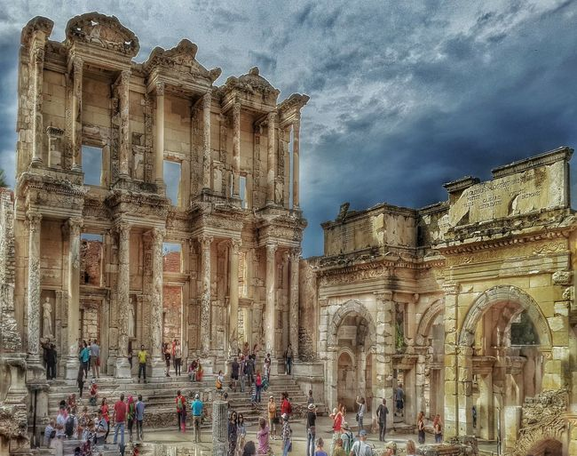 Ephesus Selçuk Historical Monuments architecture celcus library Turkey history historical cities