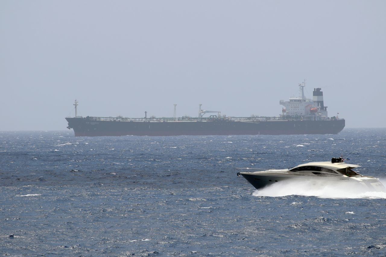 Day Nautical Vessel No People Outdoors Sea Sea Life Speed Boat Versus Tanker Transportation Water