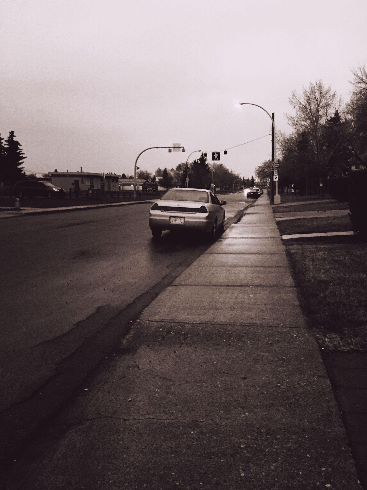 gloomy evening Leading Lines Rainy Days Yeg Eyeem Canada
