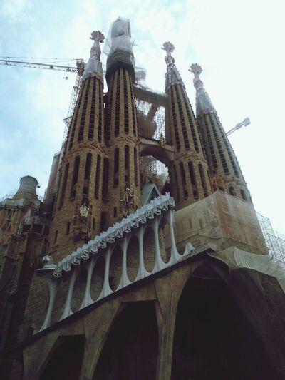 Sagrada Familia Architecture Church Barcelona
