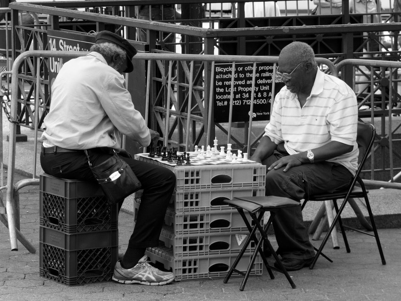 chair, real people, sitting, playing, full length, indoors, two people, men, workshop, day, chess, adult, people
