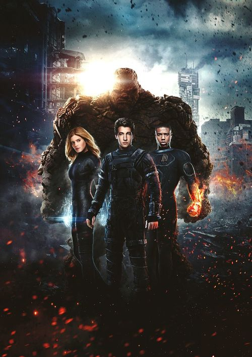 Fantastic Four Poster Summer2015