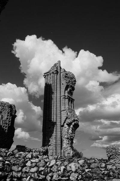 The ruins of Binham Priory, Norfolk, England. Ancient Architecture Benedictine Binham Priory Built Structure Historic Monastic Monochrome Norfolk Uk Religious Architecture The Past Tourism Travel Destinations