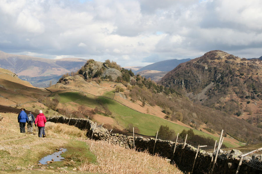 Castle Crags, Cumbria Castle Crags Hiking Hiking Trail Lake District Lakeland Landscape Leisure Activity Nature Outdoors Walkers The Great Outdoors - 2016 EyeEm Awards The Great Outdoors With Adobe