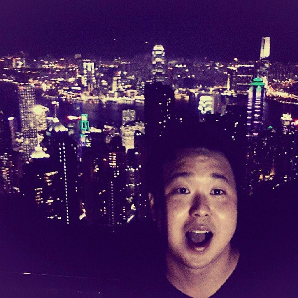 홍콩야경 은 역시... 좋다 여름휴가 여행 셀스타그램 selfie 셀피 맞팔 팔로우