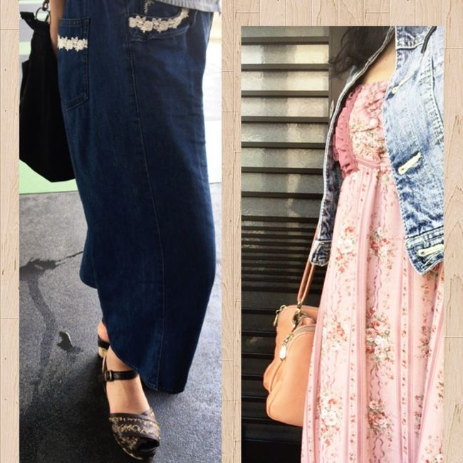 I Love the Brandname Axesfemme 💕💕💕 Fassion Japan Axes Like Dress Slacks Sandals