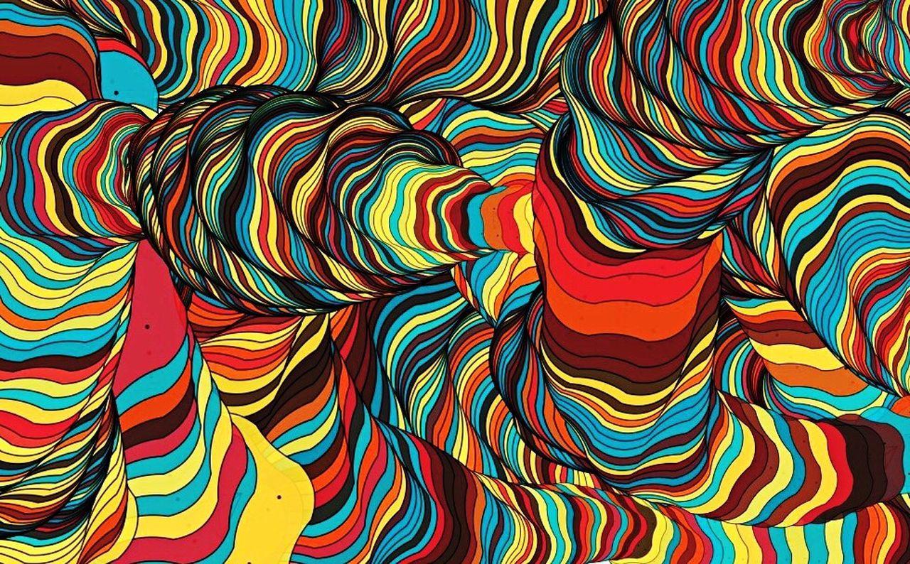 ADN Abstract Multi Colored Art ArtWork Art, Drawing, Creativity