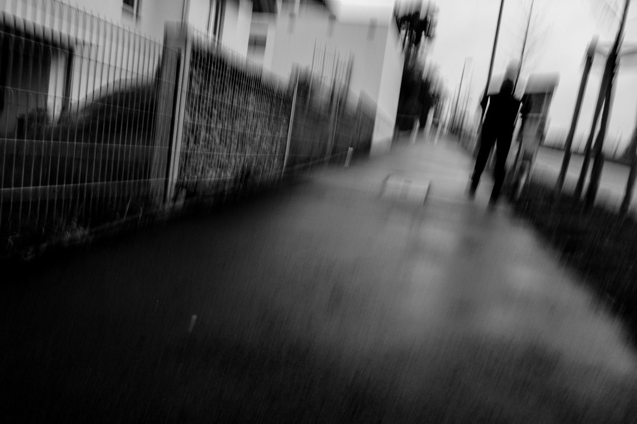 Black & White Blured Blured Moments Blurred Motion Day Grass Indoors  Move No People Streetphotography