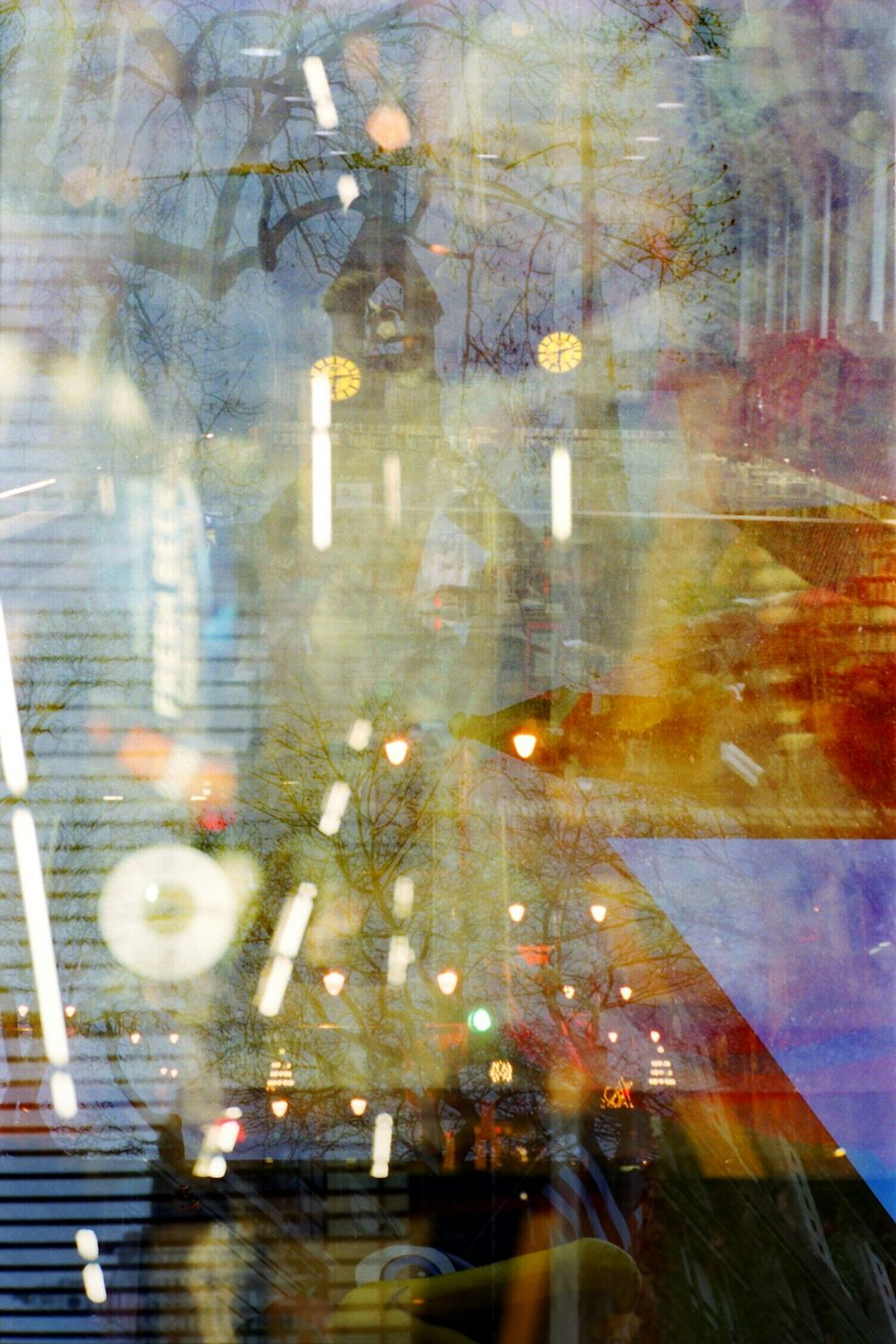 The result of my Canonetql17's failing sprockets. Something like 4 Double Exposure hots in one. Glitch Film Photography 35mm Camera 35mm Film The City Light