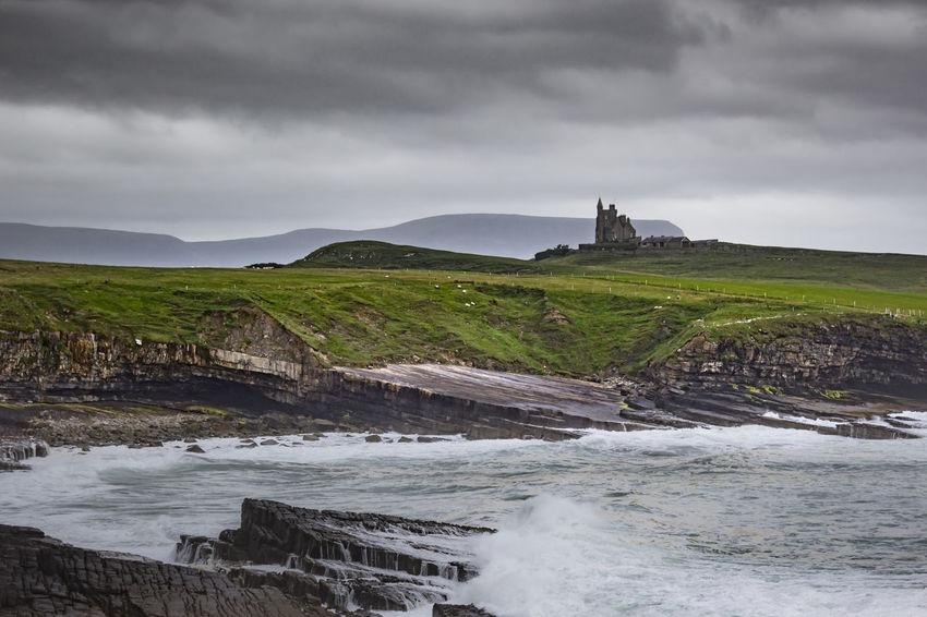 Cloud - Sky Cloudy Coastline Ireland Landscape Mountain No People Overcast Sky Weather