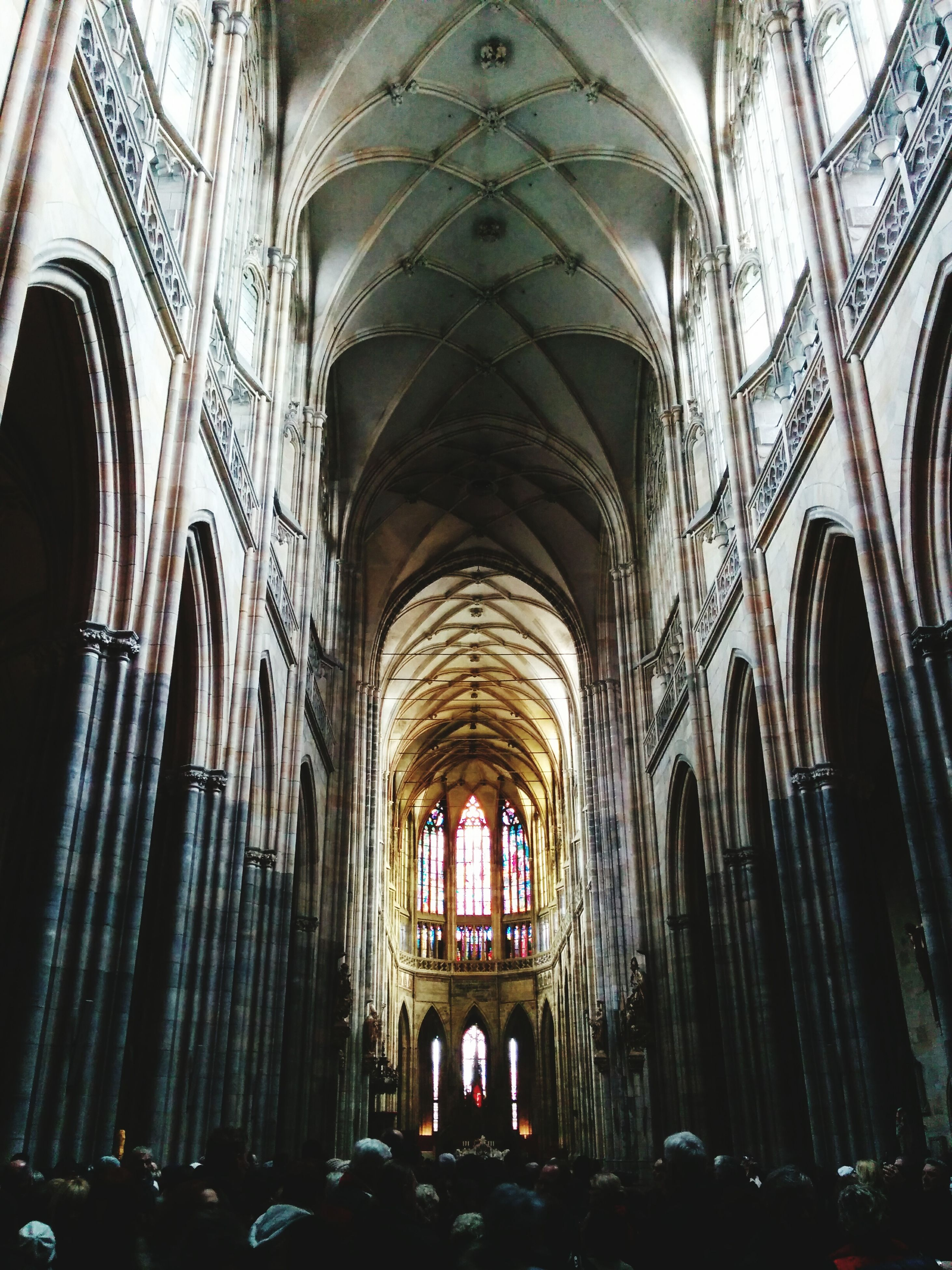 indoors, arch, place of worship, religion, church, spirituality, architecture, ceiling, famous place, interior, cathedral, tourism, travel destinations, built structure, history, travel, ornate, pew