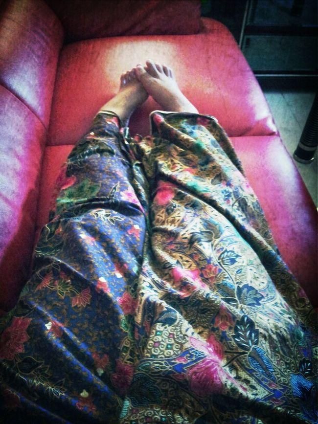 Berkain Batik