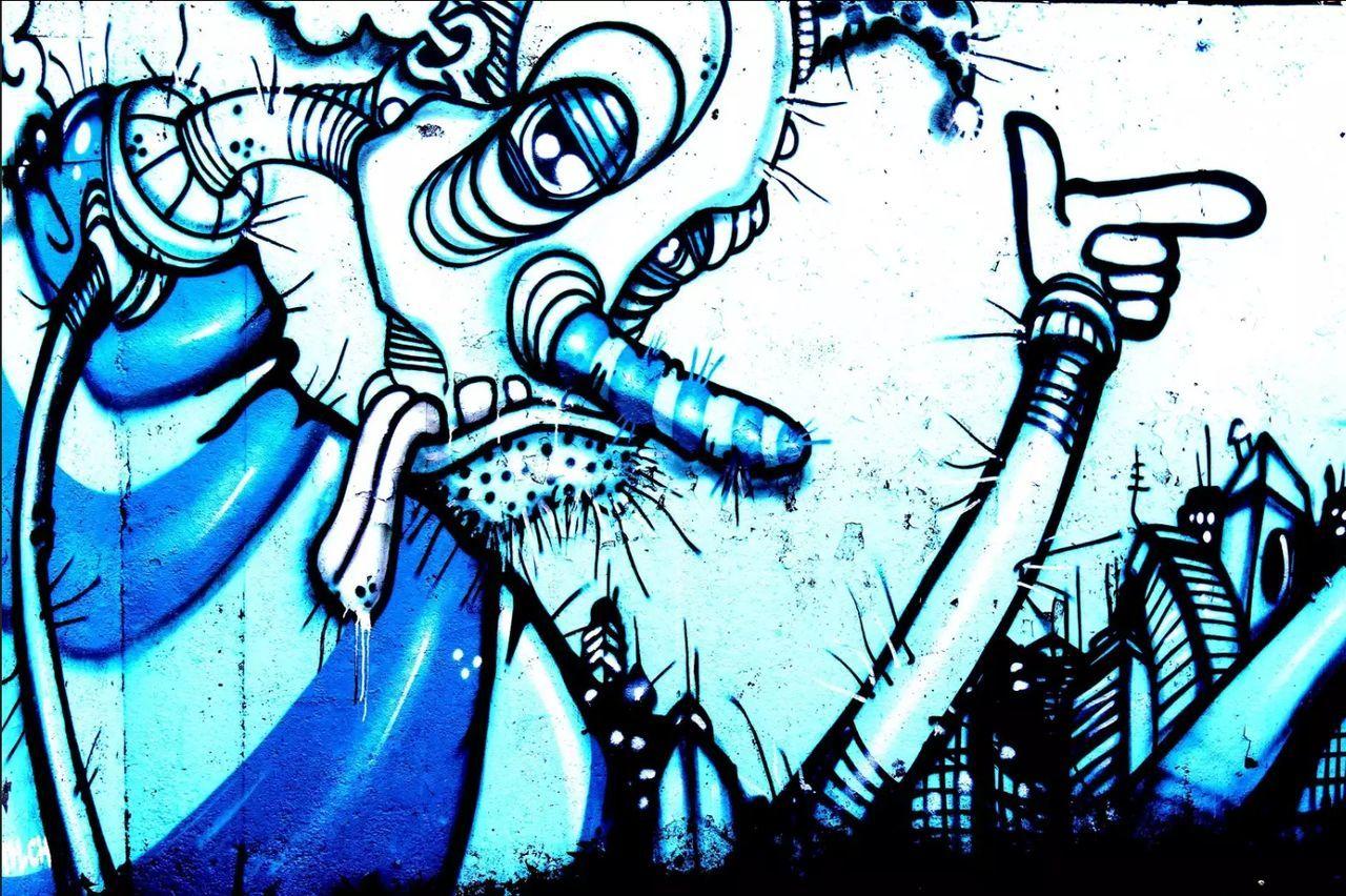 EyeEmNewHere Backgrounds Street Life Wall Art Colors Graffiti & Streetart Graffiti Photography Grafitti Crazypeople Indutry
