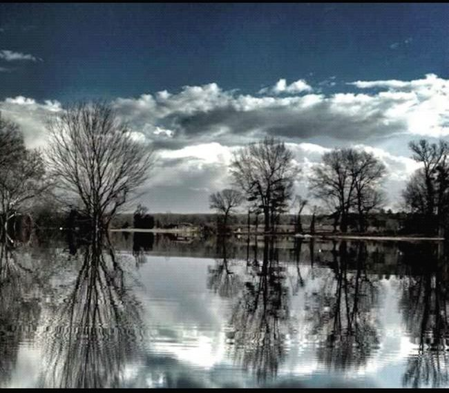 Eye4reflections Challenge Submission Water Landscape Trees Clouds And Sky