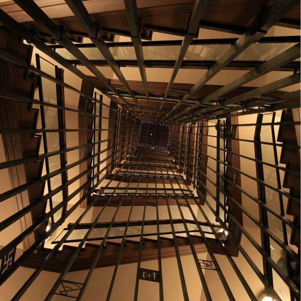 螺旋階段 奥行き同盟 名古屋城 写真好きな人と繋がりたい 写真撮ってる人と繋がりたい Canon Enjoying Life 奥行き 名古屋