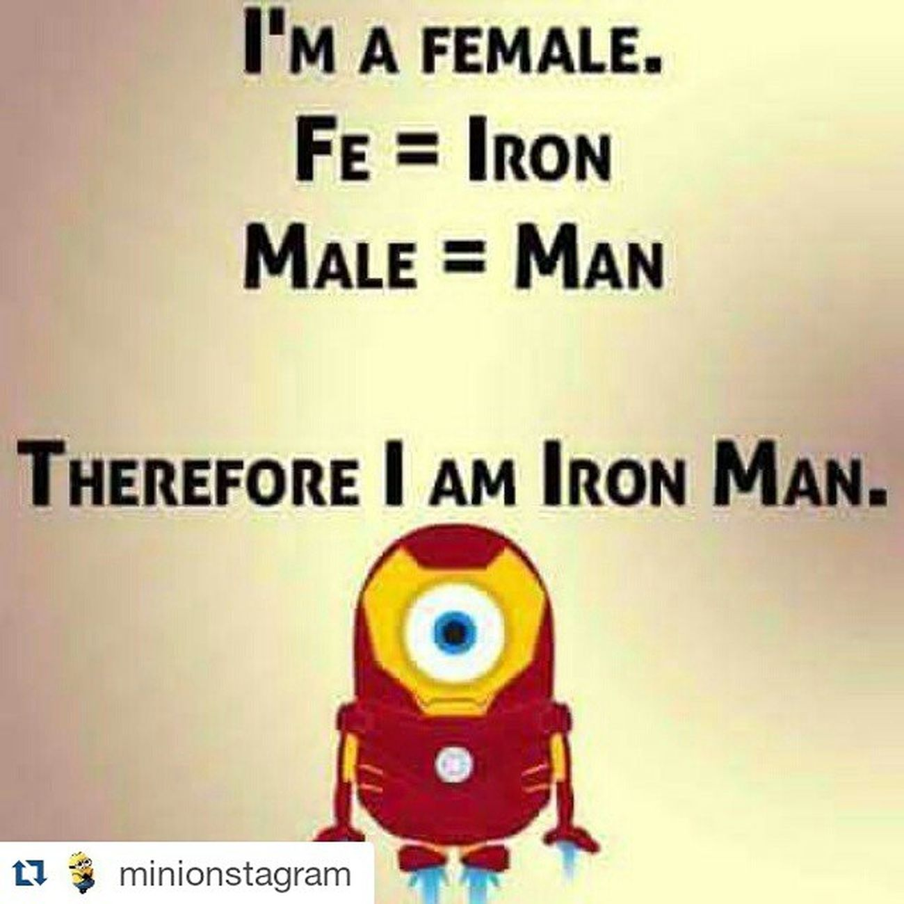 Repost @minionstagram ・・・ Minions Minionquote Minionstagram Oh yeahh don't mess with me 🙅🙅