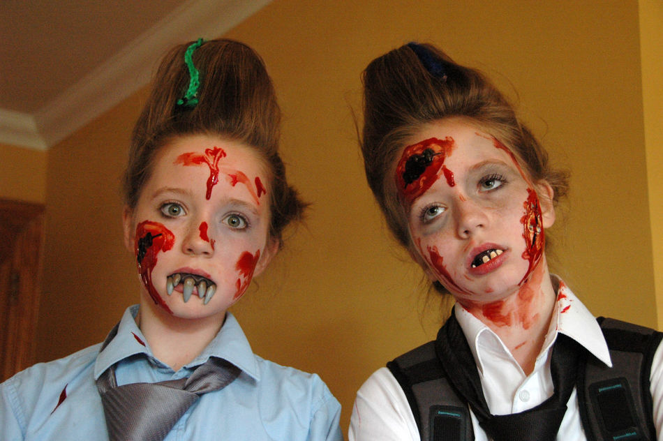 Beautiful stock photos of zombie, Bizarre, Blood, Blue Color, Brown Hair