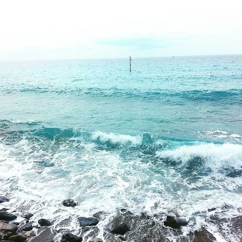 Mare . Onde . Schiuma . CA Ohmariasalvador Sea Borgioverezzi Borgio Verezzi Beach Ig_Savona Ricordidestate2015