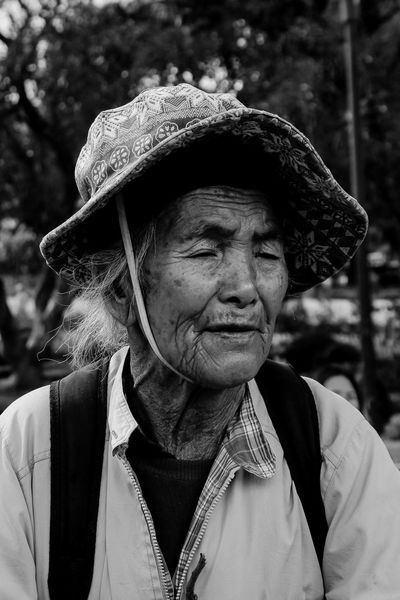 """Dalawang dekada ka lang mag-aaral. Kung 'di mo pagtitiyagaan,anak, limang dekada ng kahirapan ang kapalit. Sobrang lugi."" An excerpt from MACARTHUR by Bob Ong 18-55mm 18-55mm Portrait Amateurphotography Beggar Black And White Black And White Collection  Black And White Photography Black And White Portrait Close-up FilipinoStreetPhotographers Kalye Kalyeph Light And Shadow Lightroom Local People Portrait Real People Senior Adult Street Photography Street Portrait Wrinkled"