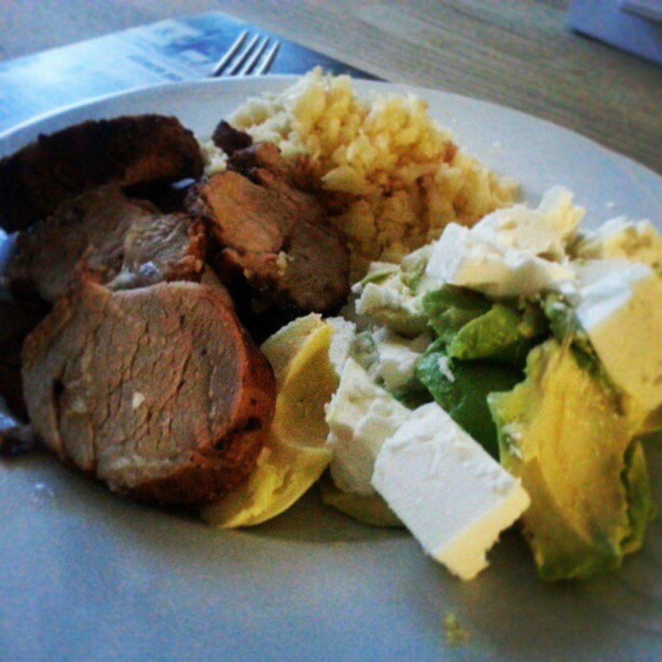 Kan inte säga annat än att dagens middag smakade bra! Jävla Matbild Instafood Diet