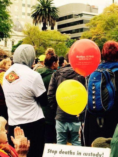 Here Belongs To Me Naidoc Week Aboriginal Aboriginal Flag Flag Red Balloon Black Balloon Balloons My Culture Pride My Heritage Red Black Yellow Aboriginal Rights Standing Tall March Aboriginal Pride