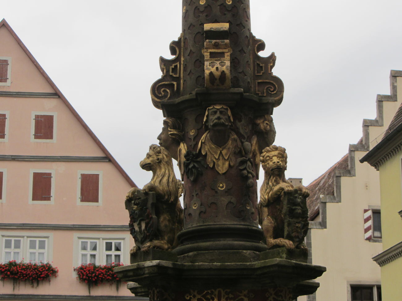 Germany Rothenburg O. T. Brunnen