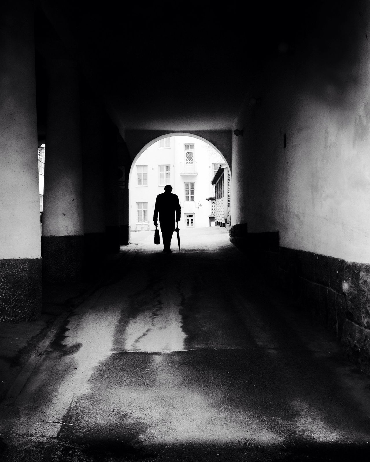 Alone The Street Photographer - 2016 EyeEm Awards Blackandwhite AMPt_community Streetphotography