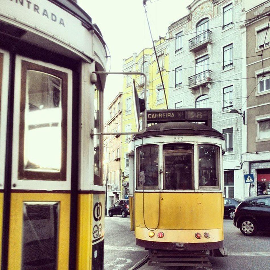 Traffic Jam. Cablecar Carreira Lisboa