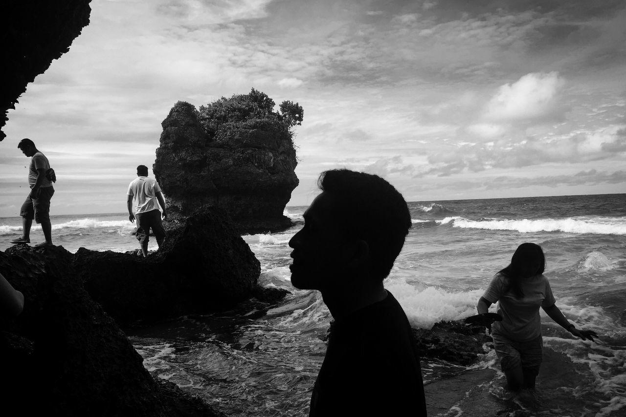 The Week on EyeEm Eyeem Philippines blackandwhite beach real people Welcome to Black Travel beachlife Summertime